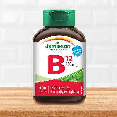 Vitamin B12 100 mcg (Methylcobalamin)