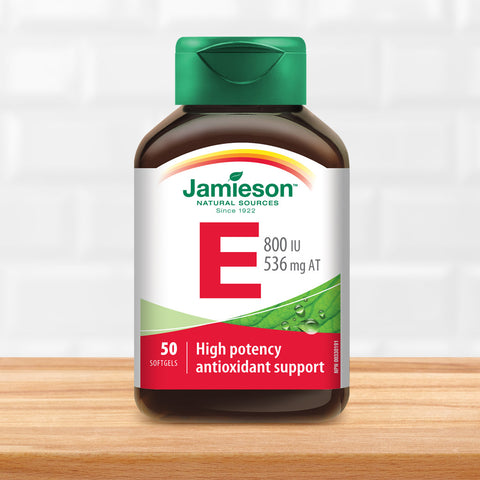 Vitamin E 800 IU/536 mg AT