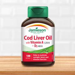 Cod Liver Oil with Vitamin A