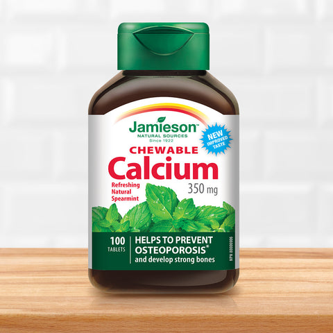 Calcium Chewable 350 mg - Spearmint