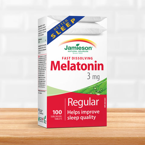 Melatonin 3 mg Fast Dissolving Tablets