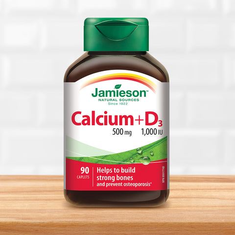 Calcium 500 mg + Vitamin D3 1,000 IU