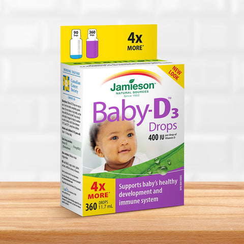 Baby-D™ 400 IU Vitamin D3 Droplets