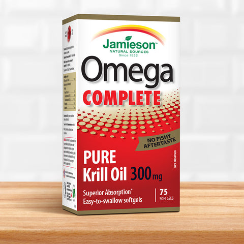 Omega Complete™ Krill 300 mg