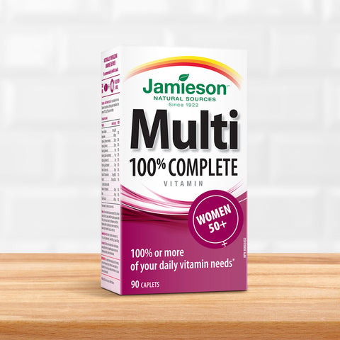 100% Complete Multivitamin for Women 50+