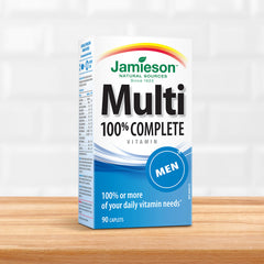 100% Complete Multivitamin for Men
