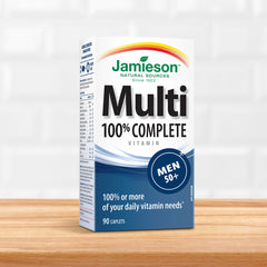 100% Complete Multivitamin for Men 50+