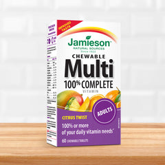 100% Complete Multivitamin Chewable - Citrus Twist