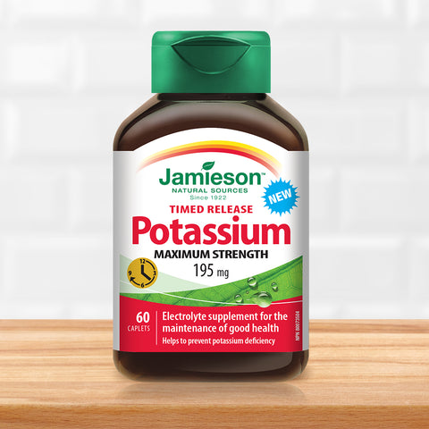 Potassium 195 mg Timed Release