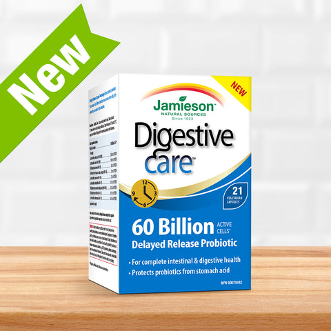Digestive Care 60 Billion Delayed Release Probiotic
