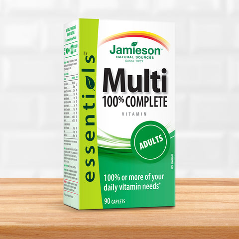 Jamieson's Essential 100% Complete Adult Multivitamin