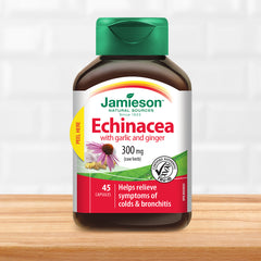 Echinacea 300 mg- With Garlic and Ginger