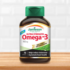 No Fishy Aftertaste - Ultra Strength Omega-3