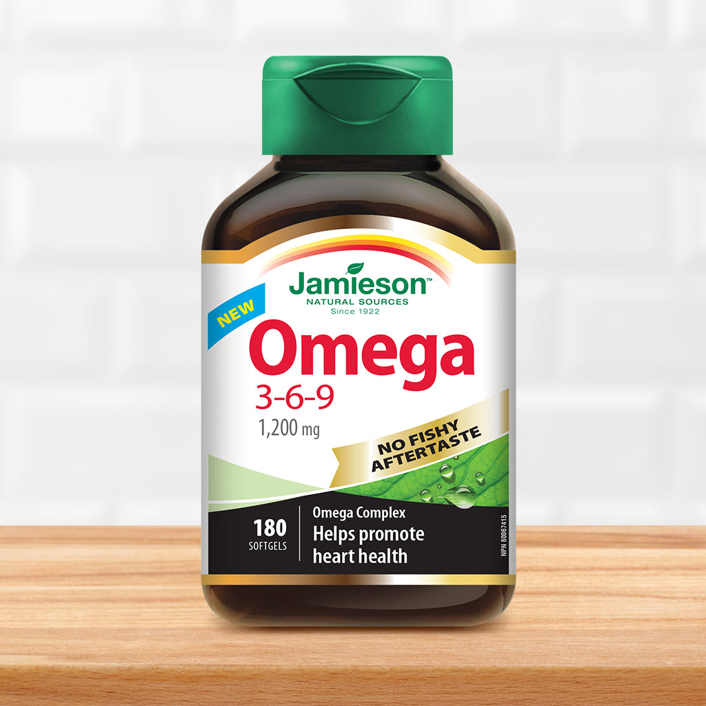 No Fishy Aftertaste Omega-3-6-9 1,200 mg