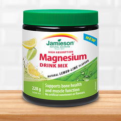 Magnesium Drink Mix - Natural Lemon-Lime flavour
