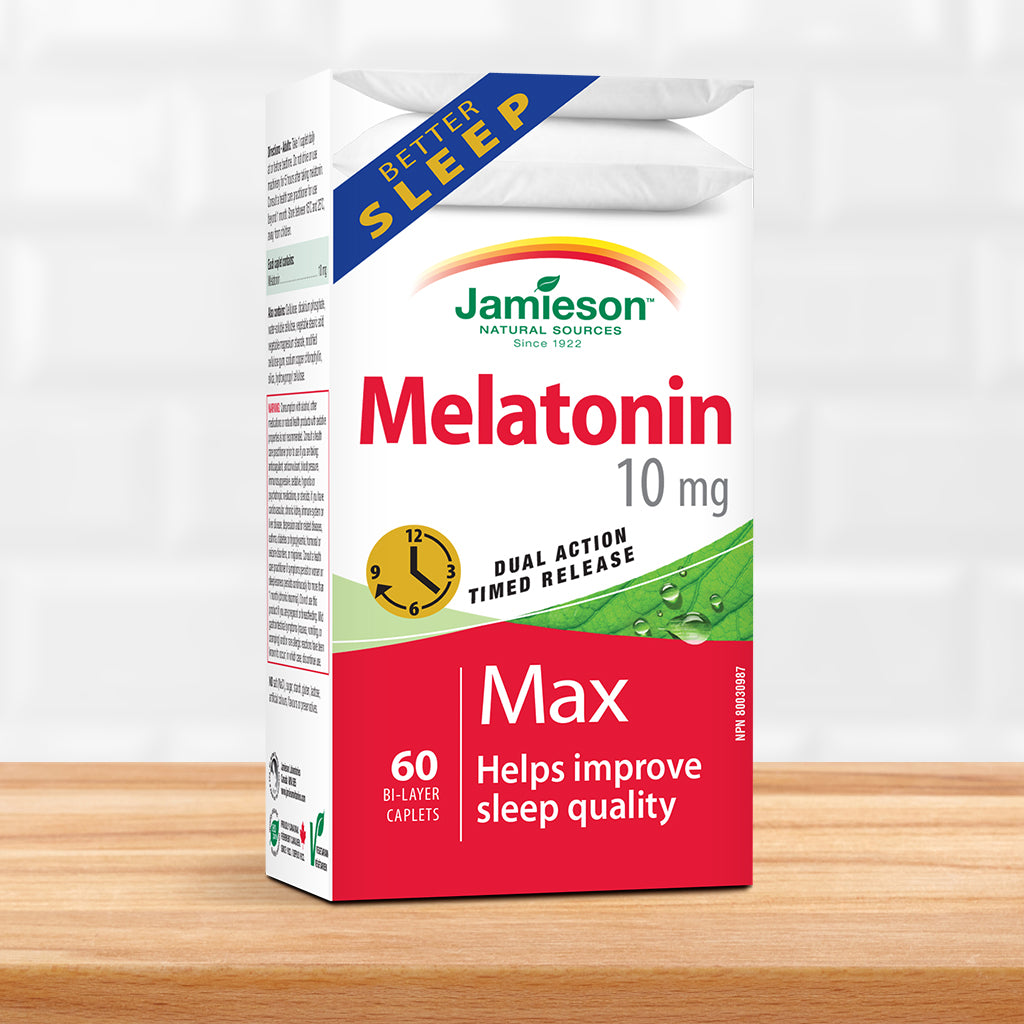 Melatonin 10 mg Dual Action Timed Release