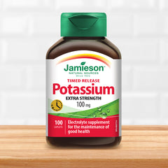 Potassium 100 mg Timed Release