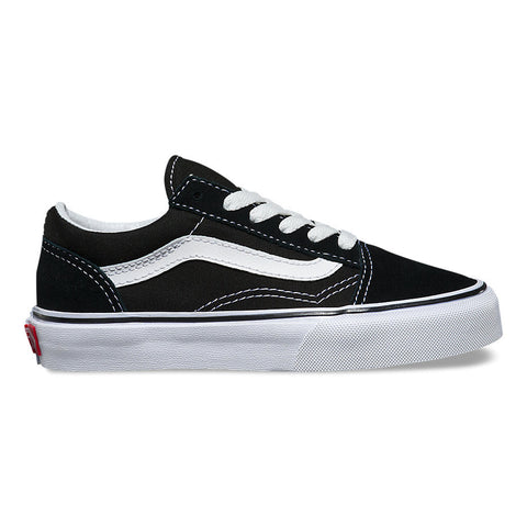 VANS Kid's Old Skool Black/True White
