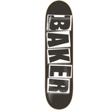 BAKER Brand Logo Deck Black/White