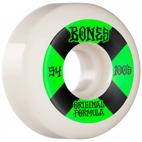 BONES 54mm 100s Sidecut Wheels