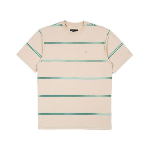 BRIXTON Hilt Knit Tee Safari/Fern