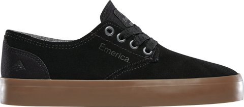 EMERICA Youth Romero Laced Black/Gum