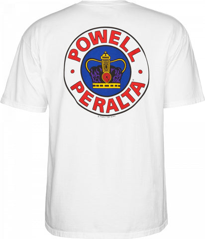 POWELL PERALTA Supreme Tee White