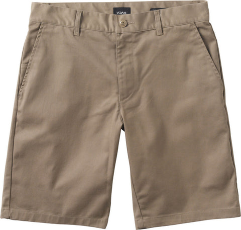 RVCA Week-End Stretch Shorts Dark Khaki