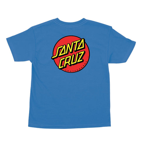 SANTA CRUZ Toddler Classic Dot Tee Cobalt Blue