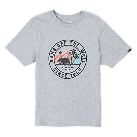 VANS Boy's Beach Bear Tee Athletic Heather