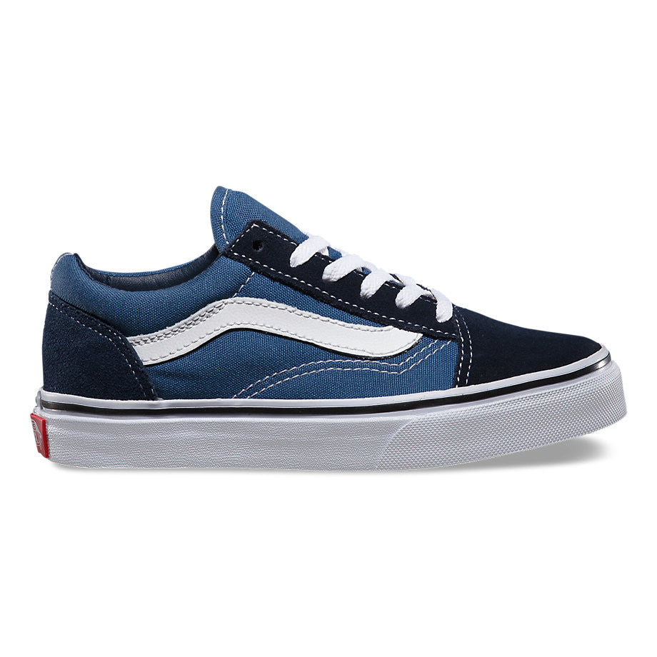 60becbecdf VANS Kid s Old Skool Navy True White