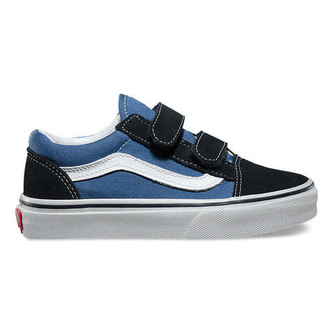 VANS Kid's Old Skool V Navy/True White