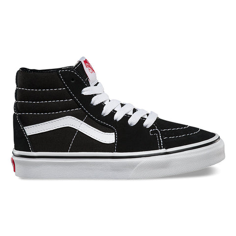 VANS KIDS Sk8-Hi Black/True White