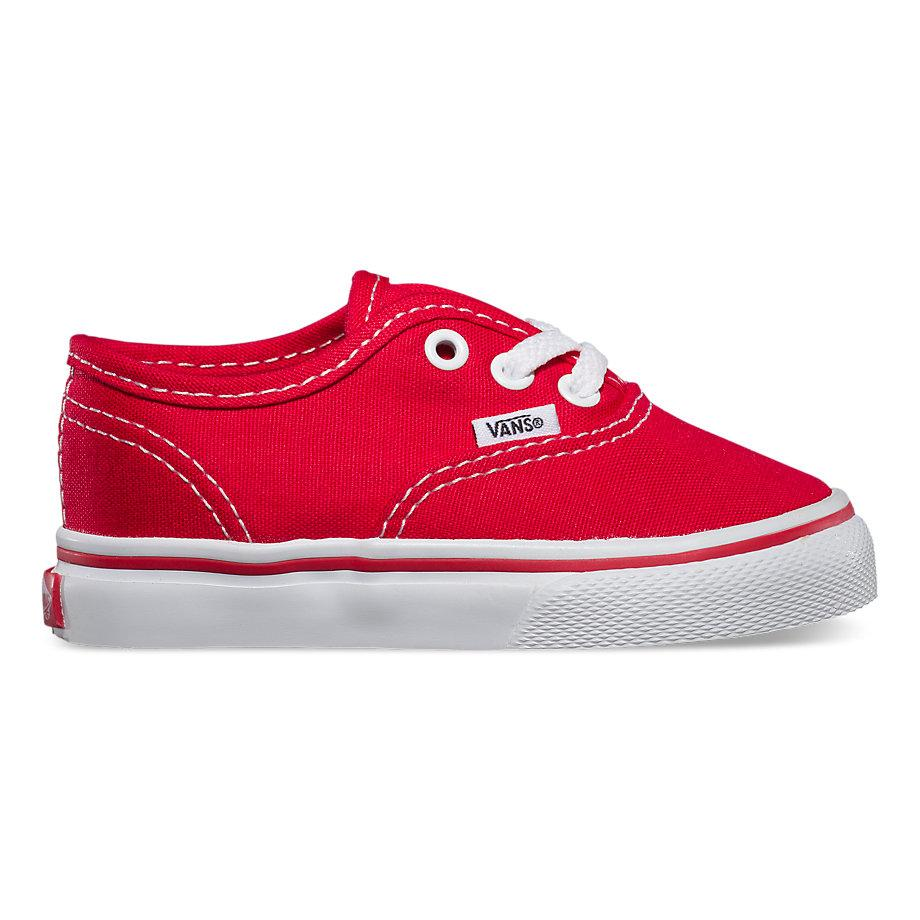 VANS TODDLER Authentic Red