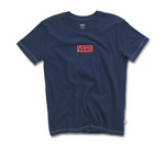 VANS Girl's Pro Stitched Crew Tee Dress Blues