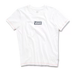 VANS Girl's Pro Stitched Crew Tee White