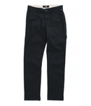 VANS Boy's Authentic Chino Stretch Pant Black
