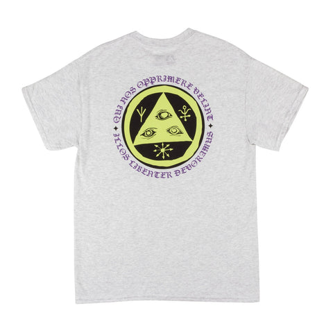 WELCOME Latin Talisman Tee Ash