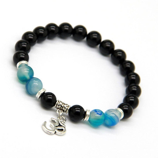 OM Yoga | Natural Black Onyx