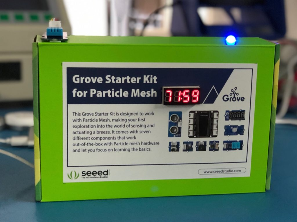 Build a Particle-powered Wi-Fi Thermometer with an Argon
