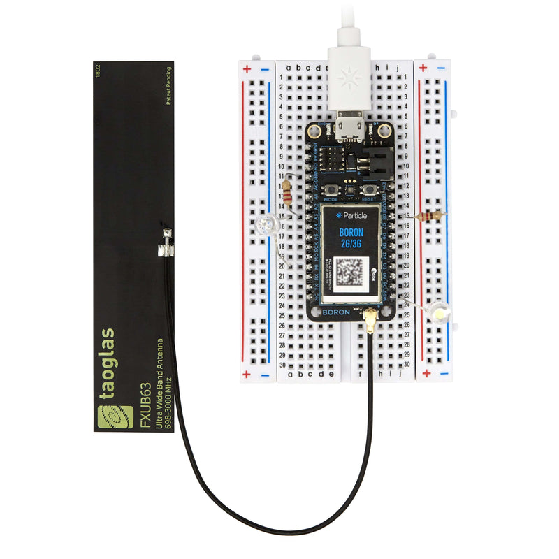 Boron 2G/3G Global Starter Kit with EtherSIM