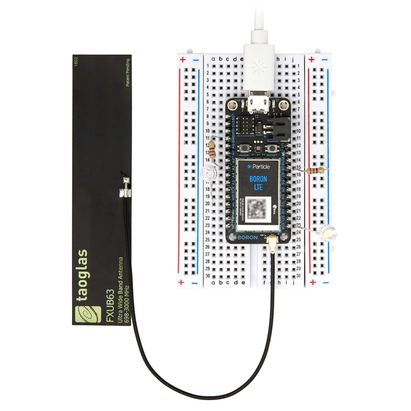 Boron LTE CAT-M1 (NorAm) Starter Kit with EtherSIM