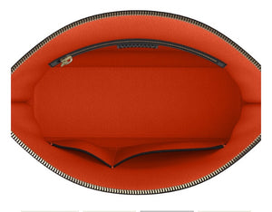 FIERCE Red Leather Clutch Bag
