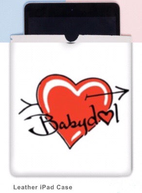 BABYDOL Leather IPad Cover.