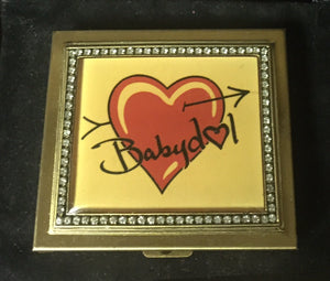 BABYDOL Gold Pillbox with Gold Tweezer!