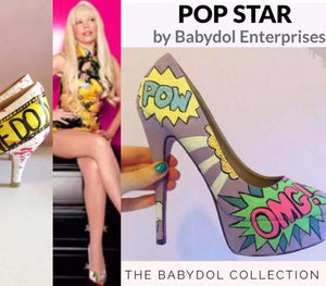 "The POP STAR Pump 2"" heel"