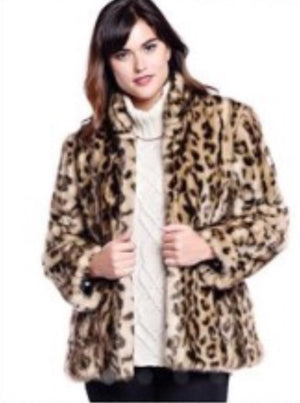 LEOPARD COAT from the Chris Hunter Photo Shoot!