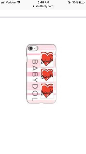 BABYDOL IPhone Cases