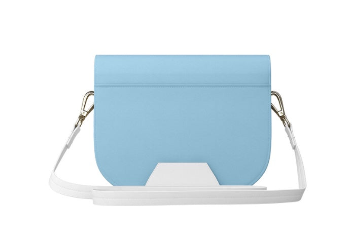 BABY IM BLUE KellyAnn Leather Bag