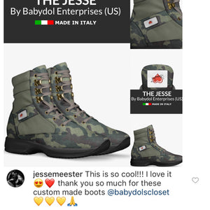 THE JESSE Special Edition Men's Leather Boot Inspired by 90 Fiance's Jesse Meester